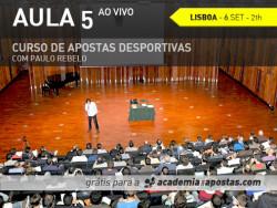 Aula 5 em Lisboa
