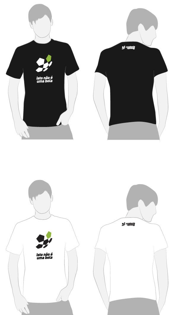 t-shirt Academia das Apostas
